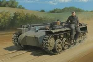 Czołg Pz.Kpfw.1 Ausf.A bez wieży Hobby Boss 80144