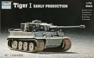 Czołg Tiger I wczesna produkcja Trumpeter 07242