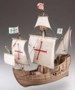 D008 Santa Maria - drewniany model w skali 1-72