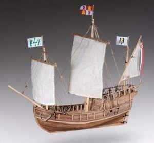 D011 Pinta - drewniany model w skali 1-72