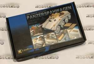 Dodatki do Sd.Kfz.234/4 Panzerspahwagen 1:35 Lion Roar LE35066