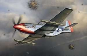 Dragon 3224 P-51K Mustang w/4.5 inch M10 Rocket Launcher