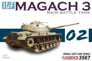 Dragon 3567 IDF Magach 3 Main Battle Tank