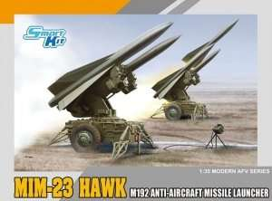 Dragon 3580 MIM-23 Hawk M192 Anti-aircraft Missile Launcher