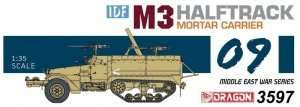 Dragon 3597 IDF M3 Halftrack Mortar Carrier
