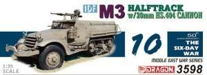 Dragon 3598 IDF M3 Halftrack with 20mm HS.404 Cannon