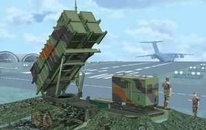 Dragon 3604 MIM-104C Patriot Surface-to-Air Missile (SAM) System (PAC-2)
