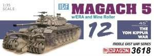 Dragon 3618 IDF Magach 5 w/ERA and Mine Roller