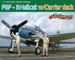 Dragon 5117 F6F-3 Hellcat w/Carrier deck