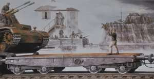 Dragon 6069 Wagon platforma typ SSy