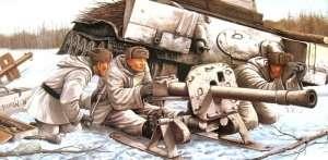 Dragon 6097 8.8cm Raketenwerfer 43 Puppchen w/crew
