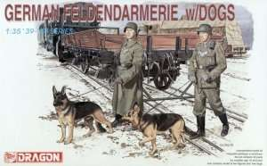 Dragon 6098 German Feldendarmerie w/dogs