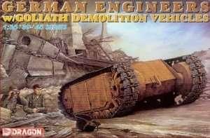 Dragon 6103 German Engineers w/Goliath Demolition Vehicles