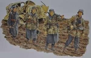 Dragon 6158 Figurki German Infantry, HG Division (Anzio 1944)