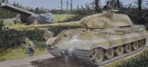 Dragon 6189 Czołg Sd.Kfz. 182 King Tiger z wieżyczką Porsche Turret
