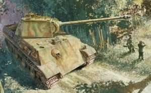 Dragon 6267 czołg Sdkfz 171 Panther G - front włoski