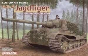 Dragon 6285 Sd.Kfz.186 Jagdtiger Henschel Production Type