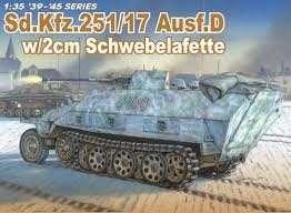 Dragon 6292 Sd.Kfz.251/17 Ausf.D w/2cm Schwebelafette