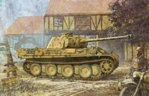 Dragon 6384 tank Sd.Kfz.171 Panther G w/Zimmerit
