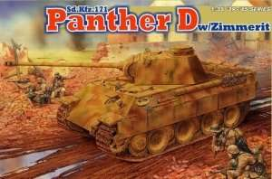 Dragon 6428 Sd.Kfz.171 Panther D w/Zimmerit