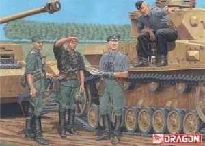 Dragon 6456 Figurki niemieckich oficerów Kursk 1943