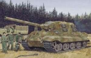 Dragon 6493 Sd.Kfz.186 Jagdtiger (Porsche Production) w/Zimmerit