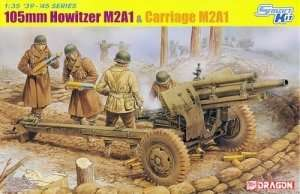 Dragon 6499 105mm Howitzer M2A1 & Carriage M2A1