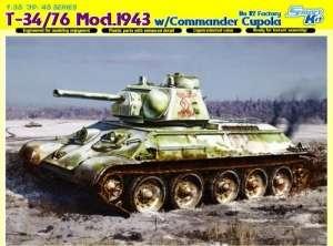 Dragon 6584 Czołg T-34/76 Mod. 1943 w/Commander Cupola