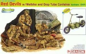 Dragon 6585 Red Devils w/Welbike And Drop Tube Container (Arnhem 1944)