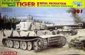 Dragon 6600 czołg Pz.Kpfw.VI Ausf.E Tiger I s.Pz.Abt.502