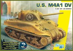 Dragon 6618 Czołg M4A1 DV Sherman