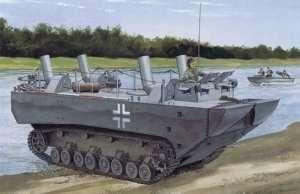 Dragon 6625 Panzerfahre Gepanzerte Landwasserschlepper