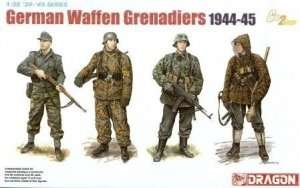 Dragon 6704 German Waffen Grenadiers (1944-45)