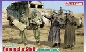 Dragon 6723 Rommel & Staff (North Africa 1942)