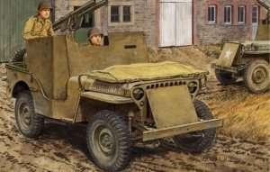 Dragon 6748 Armored 1/4 Ton 4X4 Truck w/Bazookas