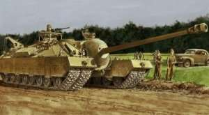 Dragon 6750 T28 Super Heavy Tank