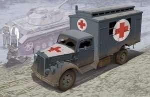 Dragon 6790 Niemiecka ciężarówka ambulans