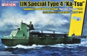 Dragon 6849 Amfibia IJN Type 4 Ka-Tsu skala 1-35