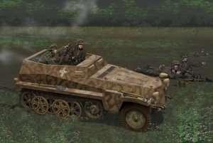 Dragon 6858 Sd.Kfz. 250/7 Alte - z wnętrzem