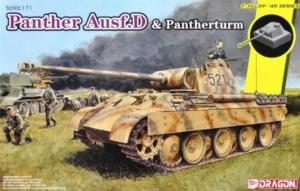 Dragon 6940 Czołg Sd.Kfz.171 Panther D oraz Pantherturm