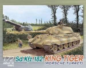 Dragon 7231 Sd.Kfz. 182 KINGTIGER PORSCHE TURRET