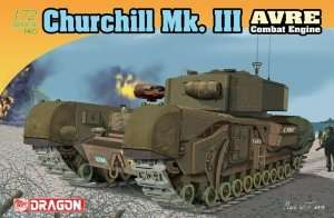 Dragon 7327 Churchill Mk. III AVRE