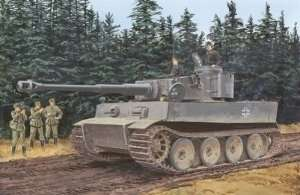 Dragon 7370 Tiger I Initial Production s.Pz.Abt.502 (Leningrad 1942)