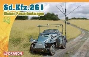 Dragon 7447 German SdKfz.261 Kleine Panzerfunkwagen