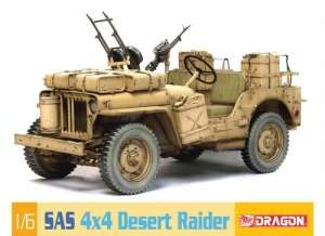 Dragon 75038 Jeep SAS 4x4 Desert Raider