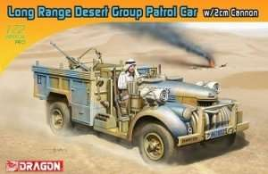 Dragon 7504 Long Range Desert Group Patrol Car with 2cm Cannon