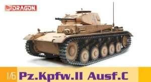 Dragon 75045 Czołg Pz.Kpfw.II Ausf.C skala 1-6