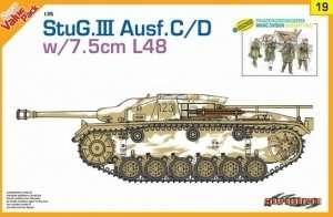 Dragon 9119 StuG.III Ausf.C/D w/7.5cm L48