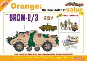 Dragon 9137 Pojazd opancerzony BRDM-2/3 model 2w1