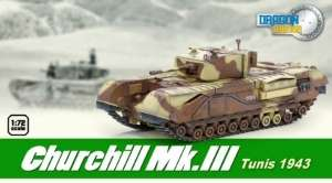 Dragon Armor 60569 Czołg Churchill Mk.III Tunisia 1943